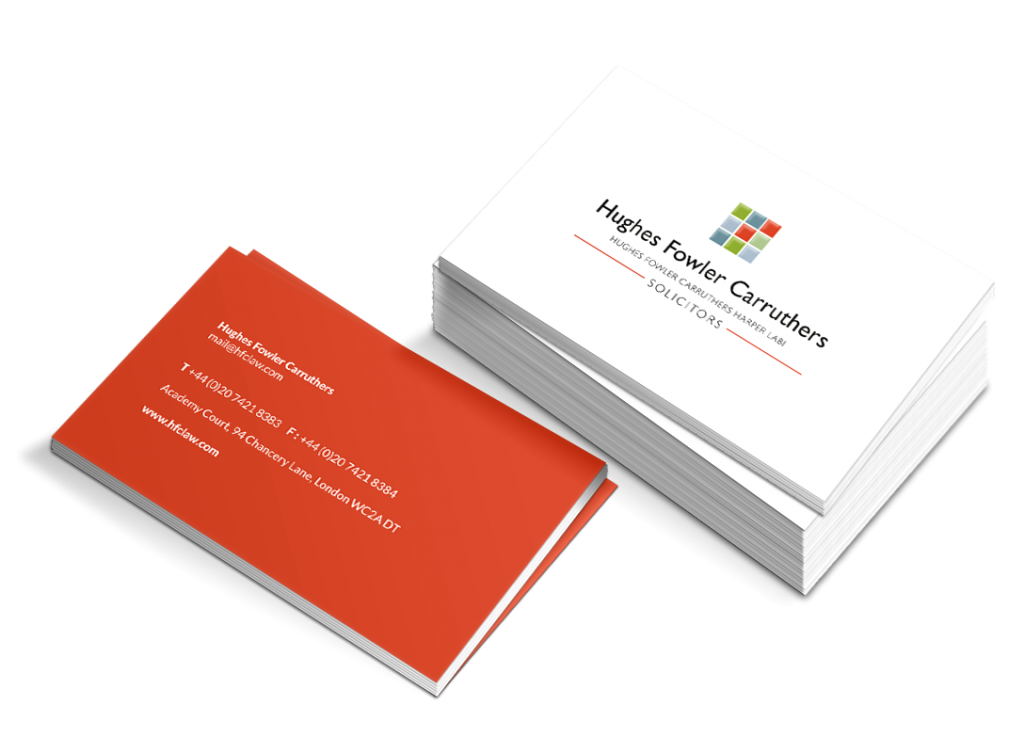 HFC business cards